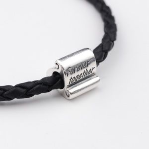 """Authentic PANDORA """"Forever together"""" Scroll Charm"""